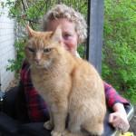Mit Jonathan im Garten